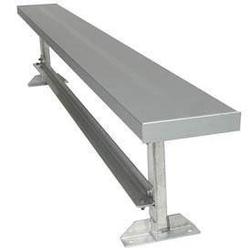 Bancs de plat en aluminium
