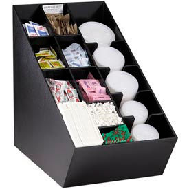 Countertop Lid, Straw And Condiment Organizers