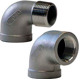 Stainless Steel 90 Degree Threaded Elbows
