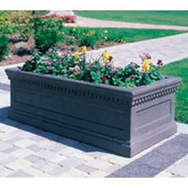 Wausau Tile - Rectangular Concrete Planters – 72 To 96 Inch Wide
