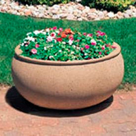 Wausau Tile - Oval Concrete Planters