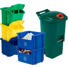 Stacking & Nesting Recycle Bins