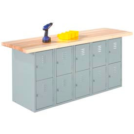 Locker Wall Benches