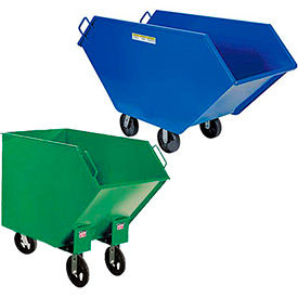 Tapered End Steel Waste & Chip Trucks