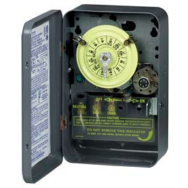 24 Hour Time Switches W / Skipper, Optional Carryover