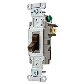 Interrupteurs à bascule qualité commerciale - 120/277v AC