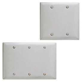 Bryant® Metallic Blank Box And Strap Mount Wall Plates