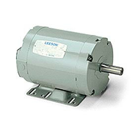 Leeson Aeration Fan Motors, Belt-Driven, Dust-Tight Three-Phase, TEAO, Rigid Base