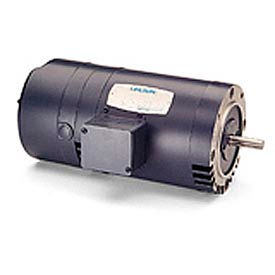 Leeson Brake Motors, Three-Phase, Drip-Proof, C Face Less Base