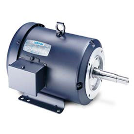 Leeson JM Pump Motors, Three-Phase, TEFC, Rigid Base