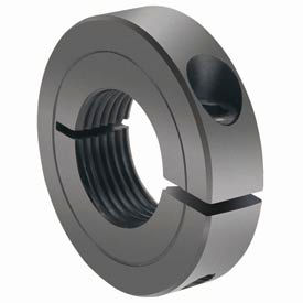 Climax Metal, TC-Series : One-Piece Threaded Clamping Collar with Recessed Screw