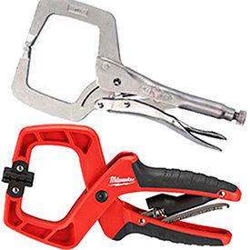 Locking C-Clamp Pliers