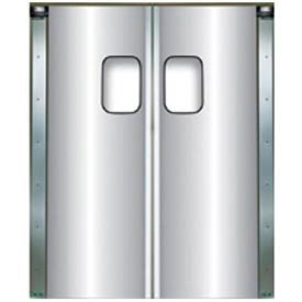 Aluminum Impact Traffic Doors