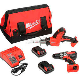 Milwaukee Power Drill Combo Kits