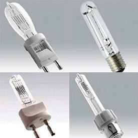 Audio/Visual Tungsten Halogen Lamps - Single Ended