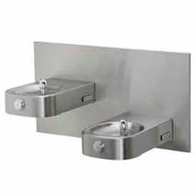 Square Basin ADA Drinking Fountains With Back Panel