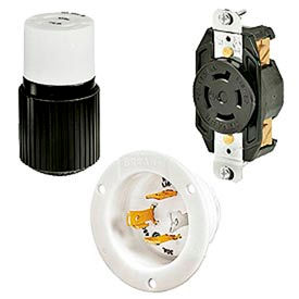 Bryant® Tech-Spec® 3-Pole 4-Wire 20 & 30 Amp Locking Devices