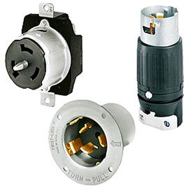3-Pole 4-Wire 50 Amp Locking Devices