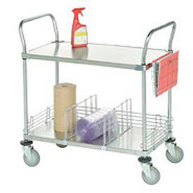 Galvanized Steel Utility & Stock Carts