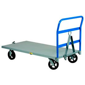 Little Giant® Caster-Steer Steel Deck Trailers