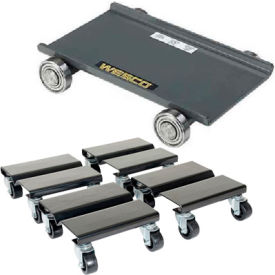 Solid Steel Deck Dollies