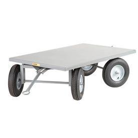 Little Giant® Steel Deck Double Fifth-Wheel Steer Tracking Trailer