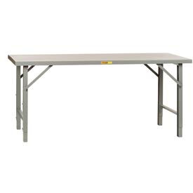Extra Long 12 Gauge Soudés Réglable Height Assembly Workbenches