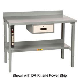 Little Giant® Fixed Height Workbenches With Backstop