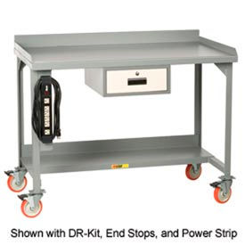 Mobile Workbenches With Backstop