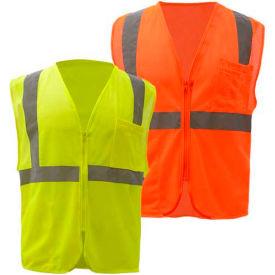 Hi-Visibility ANSI Class 2 Mesh Vests