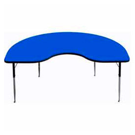 Kidney Shaped Child Height Activity Tables
