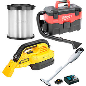Cordless Vacuums & Filters