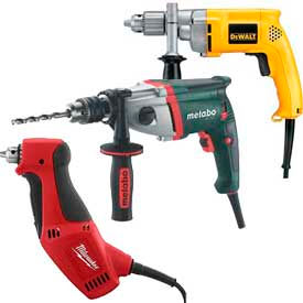 Corded Power Drills