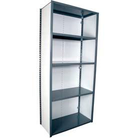 Equipto Closed Steel Shelving - 18 Gauge - 84