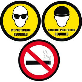 Durastripe Round Floor Safety Signs