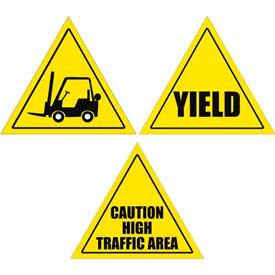 Durastripe Triangle Floor Safety Signs