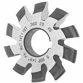 Involute Gear Cutters w/ 14.5° Pressure Angle