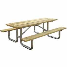 Tables de pique-nique en bois