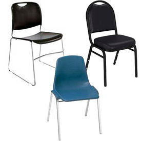 National Seating® Public - empiler des chaises