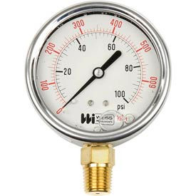 Weiss Stainless Steel Liquid Filled Gauges