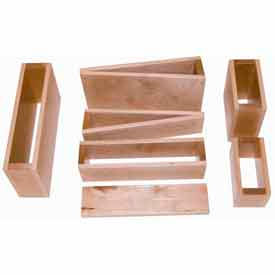 Children's Hardwood Play Blocks