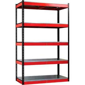 Hallowell - Fort Knox Rivetwell Shelving Units 78