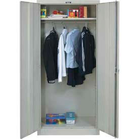 Hallowell Solid Door Wardrobe Storage Cabinets