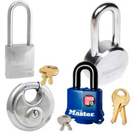 Durable High Security Solid Steel Padlocks