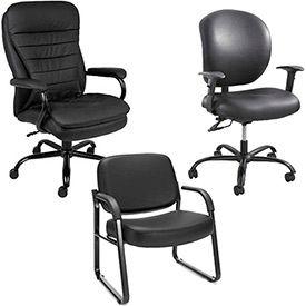 Vinyl Big & Tall Chairs