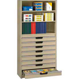 Tennsco Modular Drawers, Stacks & Dividers