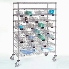 Nexel® Chrome Catheter Procedure Carts