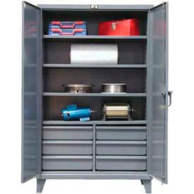 All-Welded Heavy Duty Cabinet With Drawers