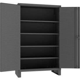 All-Welded Heavy Duty Storage Cabinets with Pegboard
