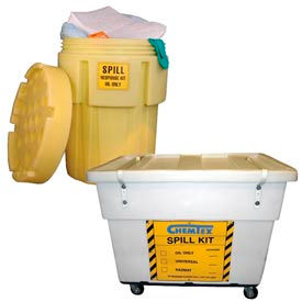 Oil-Only Spill Response Cleanup Kits
